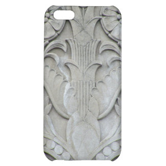 Art Deco Stone Flowers Cover For iPhone 5C