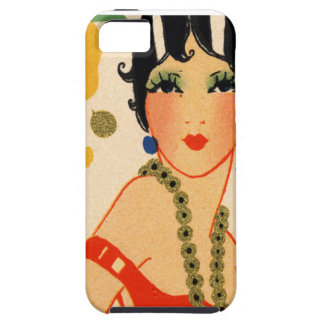 Art Deco Vamp, 1920s Flapper Case For The iPhone 5