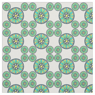 Art Deco Victorian Green Style Fabric