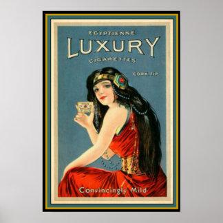 Art Deco Vintage Luxury Cigarette Ad 13 x 19 Poster