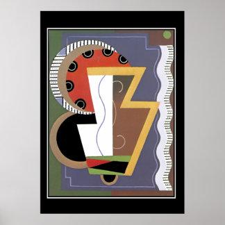 Art Deco vintage Retro Print Posters