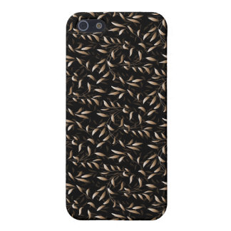 Art Deco Willow Leaf Pattern iPhone 5/5S Cases