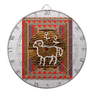 ART Decoration RAM ARIES Zodiac Symbol Astrology Dartboards
