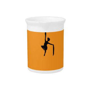 art design pattern dance pitcher