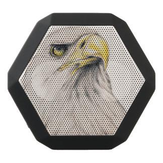 Art Drawing Of  Eagle Black Bluetooth Speaker