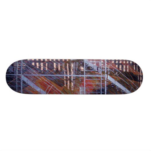 art escape from Nyc Skate Deck
