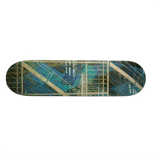 art escape from Nyc Skateboard Deck