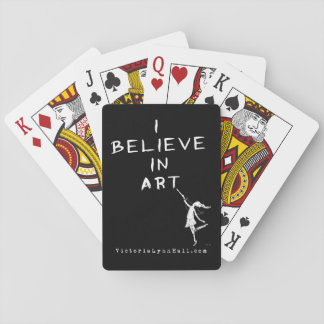 Art Fairy: I Believe In Art Promotional Value Playing Cards