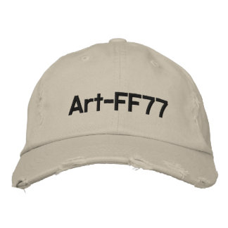 Art-FF77 Embroidered Baseball Caps
