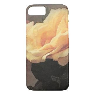 art floral vintage background in pastel colors iPhone 7 case