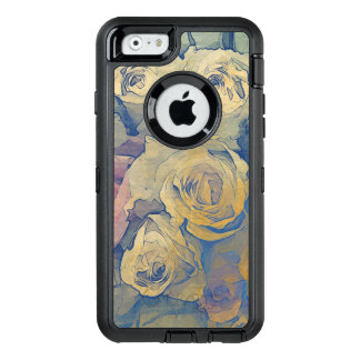 art floral vintage colorful background OtterBox iPhone 6/6s case