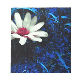 Art flower notepad