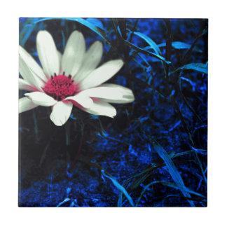 Art flower tile