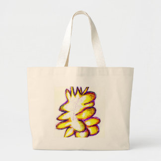 Art for Freedom Large Tote Bag