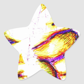Art for Freedom Star Sticker