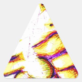 Art for Freedom Triangle Sticker