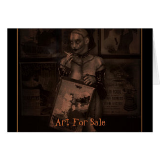 Art For Sale Greeting Card