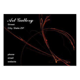 Art Gallery Pack Of Chubby Business Cards
