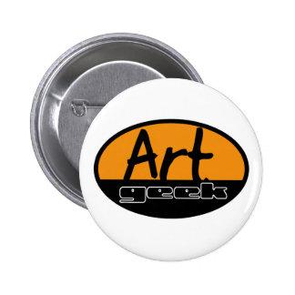 art geek button