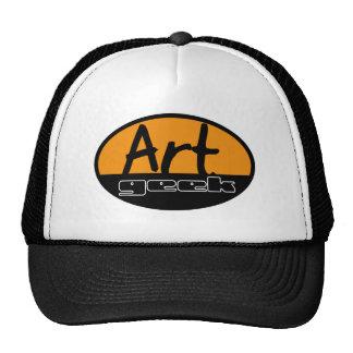 art geek mesh hats
