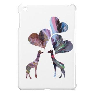 Art Giraffes iPad Mini Covers