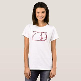 Art Golden Spiral T-Shirt