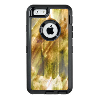art green, brown hand paint background seamless OtterBox iPhone 6/6s case