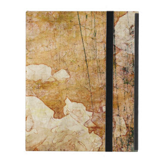art grunge floral vintage background texture iPad cover