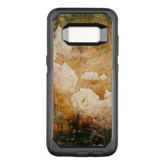 art grunge floral vintage background texture OtterBox commuter samsung galaxy s8 case