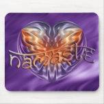 ART Heart NAMASTE | lila waves Mousepads