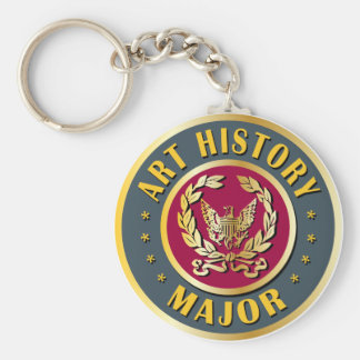Art History Major Key Chain