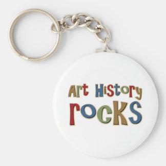 Art History Rocks Key Chains