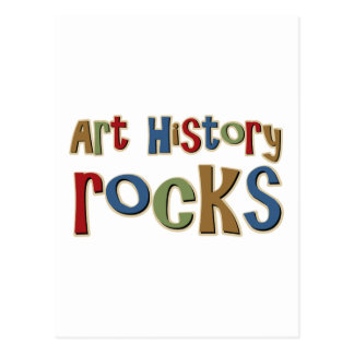 Art History Rocks Postcard