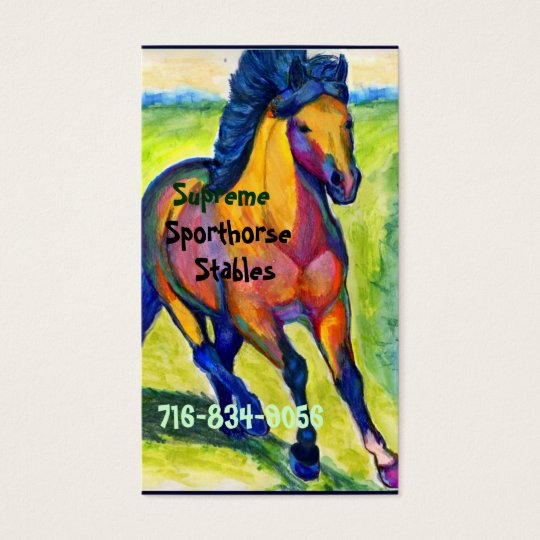 Art Horse Business Card