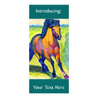 Art Horse Personalized Rack Card