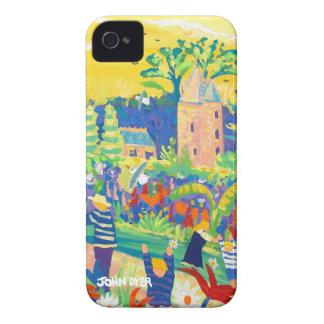 Art iPhone Case: Trelissick Banana Sky iPhone 4 Covers
