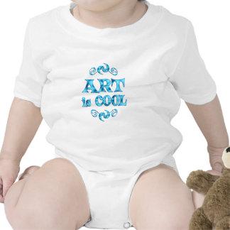 Art is Cool Baby Bodysuits