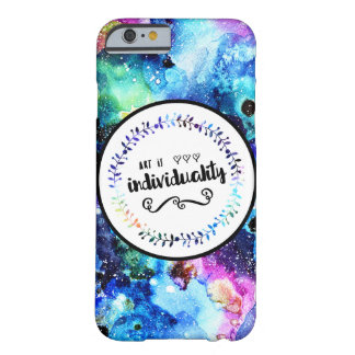 Art is Individuality Barely There iPhone 6 Case