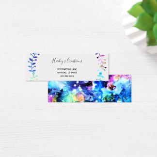 Art is Individuality Mini Business Card
