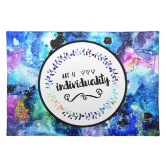 Art is Individuality Placemat