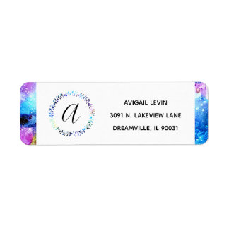 Art is Individuality Return Address Label