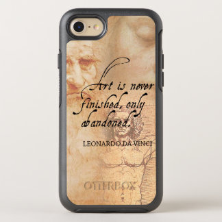 Art is never finished, only abandoned OtterBox symmetry iPhone 8/7 case
