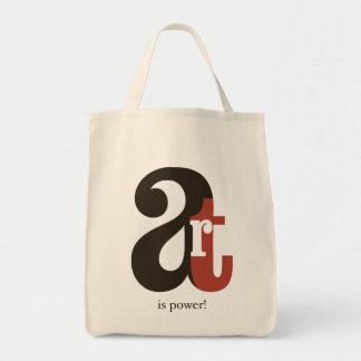 Art IS Power! Tote Bag