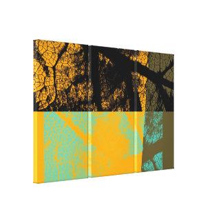 Art Leaf 2 Stretched Canvas Print