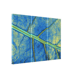 Art Leaf 5 Gallery Wrapped Canvas