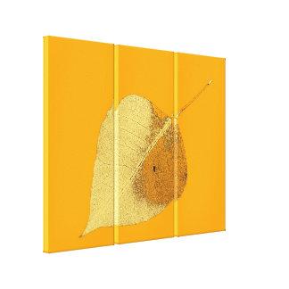 Art Leaf 9 Stretched Canvas Prints