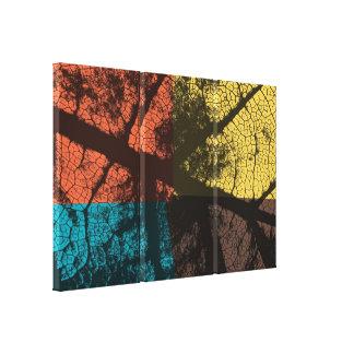 Art Leaf Canvas Print