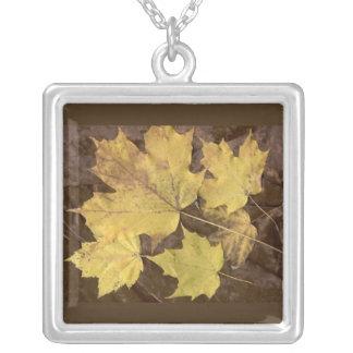 Art Leaf Jewelry, Fall Leaf Jewelry, Fall Pendant