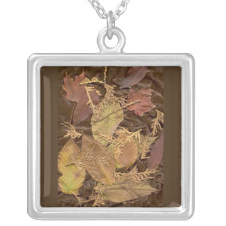Art Leaf Jewelry, Fall Leaf Necklace