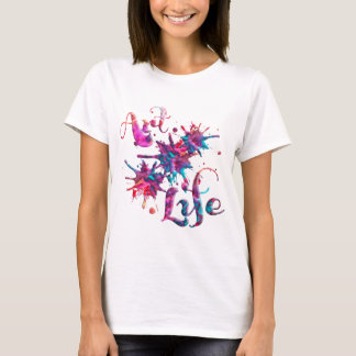 Art Life Paint Splats T-Shirt